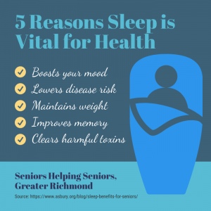 How Does Senior Sleep Quality Lead to Better Health? - 5 reasons sleep is vital for health